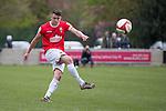 © Joel Goodman - 07973 332324 . 25/04/2015 . Salford , UK . Paul Linwood . Evostick League champions , Salford FC , play Osset Town , in Salford . Photo credit : Joel Goodman