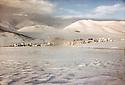 Iran 1982.Engawe, village kurde , en hiver