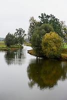 Zufluss der Warta im Nationalpark Warthemündung (Park Narodowy Ujscie Warty), Woiwodschaft Lebus, Polen<br /> tributary of river Warta in National Park (Park Narodowy Ujscie Warty, VoivodshipLebus, Poland