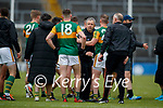 Kerry Manager Peter Keane after the Allianz Football League Division 1 South between Kerry and Dublin at Semple Stadium, Thurles on Sunday.
