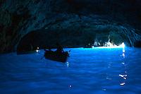 Italien, Capri, Blaue Grotte - Grotta Azzura
