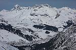Lech from Zurs Ski Area, St Anton, Austria