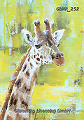 Simon, REALISTIC ANIMALS, REALISTISCHE TIERE, ANIMALES REALISTICOS, innovative, paintings+++++A_ValerieDeRozarieux_ChesterZooGiraffe,GBWR252,#a#, EVERYDAY