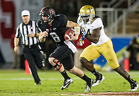 STANFORD, CA - November 30, 2012:  The Stanford Cardinal vs the UCLA Bruins at Stanford Stadium in Stanford, CA. Final score Stanford Cardinal 27, UCLA Bruins 24.