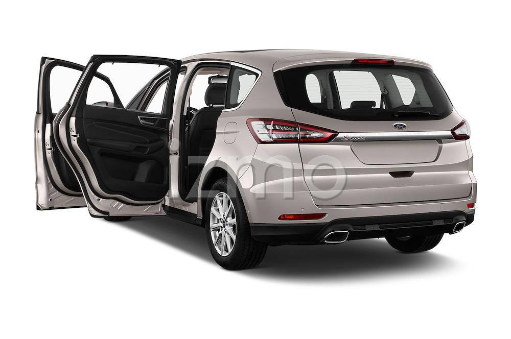 Car images of 2016 Ford S-Max Titanium 5 Door Minivan Doors