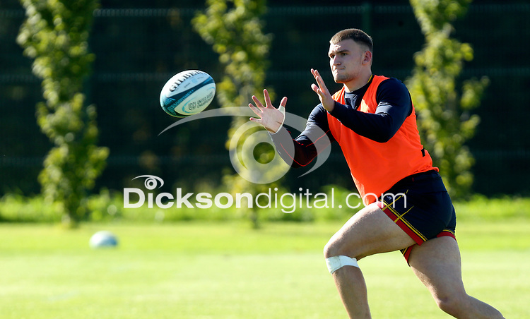 Tuesday 5th October 2021<br /> <br /> Ben Moxham during Ulster Rugby training at Newforge Country Club, Belfast, Northern Ireland. Photo by John Dickson/Dicksondigital