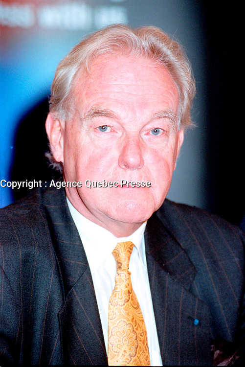CEO of Montreal International; Jacques Girard  seen here in a December 10, 1999 File Photo.<br />     .<br /> <br /> Photo by Pierre Roussel /AQP<br /> <br /> NOTE : Meilleur scan disponible sur demande
