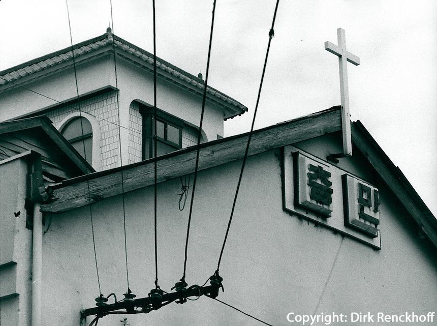 Kirche in Chonju, Korea 1986