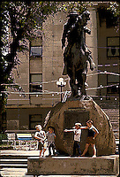 YOUNGSTER LIVING THE JOY OF THE OLD WEST.  GROWING UP IN PRESCOTT ARIZONA, HOME OF THE RODEO AND THE OLD WEST, YOUNGUNS MUST FIND THEMSELVES SURROUNDED BY THE PAST AND HISTORY OF YESTERYEAR.