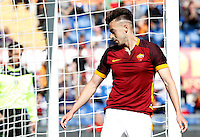 Calcio, Serie A: Roma vs Napoli. Roma, stadio Olimpico, 25 aprile 2016.<br /> Roma's Stephan El Shaarawy reacts during the Italian Serie A football match between Roma and Napoli at Rome's Olympic stadium, 25 April 2016.<br /> UPDATE IMAGES PRESS/Riccardo De Luca