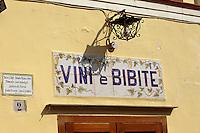 Italien, Capri, Bar in Anacapri