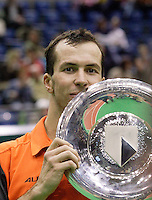 26-2-06, Netherlands, tennis, Rotterdam, Stepanek wins the ABNAMRO WTT 2006.