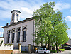 Evangelische Pfarrkirche (1827-29) im klassizistischen Stil, Architekt Augustin Wetter