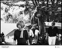 Prod DB © Copernic - Ascot / DR<br /> WEEK-END (WEEK END) de Jean-Luc Godard 1967 FRA / ITA<br /> avec Mireille Darc et Jean Yanne<br /> accident de voiture