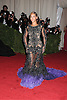 """Beyonce in Givenchy attends the Costume Institute Gala Benefit celebrating """"Schiaparelli and Prada: Impossible Conversations"""".an exhibition at the Metropolitan Museum of Art in New York City on May 7, 2012."""