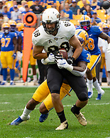 UCF tight end Jake Hescot (88).The Pitt Panthers defeated the UCF Knights 35-34 in a football game played at Heinz Field, Pittsburgh, Pennsylvania on September 21, 2019.