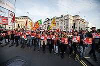 "11.10.2015 - ""London Protest against Ankara bombing"" - #LondonForAnkara"