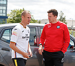 01.07.2019 Partick Thistle presser: Manager Kenny Miller and Gary Caldwell