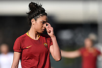 Martina Piemonte of AS Roma reacts during the Women Italy cup round of 8 second leg match between AS Roma and Roma Calcio Femminile at stadio delle tre fontane, Roma, February 20, 2019 <br /> Foto Andrea Staccioli / Insidefoto