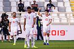 Sardar Azmoun of Iran (R) celebrates scoring the second goal during the AFC Asian Cup UAE 2019 Group D match between Vietnam (VIE) and I.R. Iran (IRN) at Al Nahyan Stadium on 12 January 2019 in Abu Dhabi, United Arab Emirates. Photo by Marcio Rodrigo Machado / Power Sport Images
