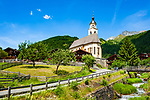 Oesterreich, Osttirol, Virgental, Obermauern: Wallfahrtskirche zu Unserer Lieben Frau Maria-Schnee | Austria, East-Tyrol, Virgen Valley, Obermauern: pilgrimage church Mary Snow