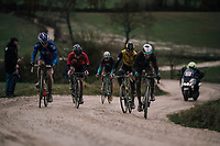 front of the race<br /> <br /> 12th Strade Bianche 2018<br /> Siena > Siena: 184km (ITALY)