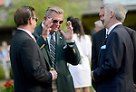 Photo By Michael R. Schmidt.Mike Ditka was among the spectators on Million Day at Arlington Park.