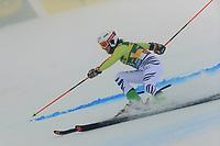 17th October 2020, Rettenbachferner, Soelden, Austria; FIS World Cup Alpine Skiing ladies downhill; Andrea Filser (GER) in foggy conditions