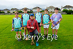 Attending the Tralee Parnells Cúl Camps on Monday, front: David Godley (Coach). Back l to r: Brian Reidy, Conor Lynch, David Sargent, Danny Brick and Cathal O'Sullivan.