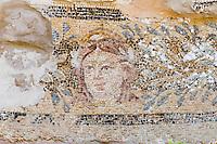 Nordzypern, antike Stadt Salamis, Mosaik in den Thermen