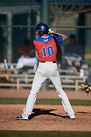 Garrison Nash during the Under Armour All-America Tournament powered by Baseball Factory on January 18, 2020 at Sloan Park in Mesa, Arizona.  (Mike Janes/Four Seam Images)