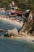 - Portoferraio (Island of Elba), beach of Le Ghiaie....- Portoferraio (Isola d'Elba), spiaggia le Ghiaie