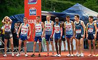 5th June 2021; Birmingham University Athletics Track, Birmingham, Midlands, England; European 10000 Metre Finals, British Olympic Trials 10000 Metre; Mo Farah Lines up for the Olympic Trials