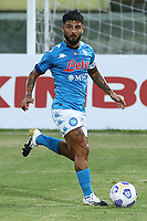 Lorenzo Insigne of SSC Napoli<br /> during the friendly football match between SSC Napoli and L Aquila 1927 at stadio Patini in Castel di Sangro, Italy, August 28, 2020. <br /> Photo Cesare Purini / Insidefoto