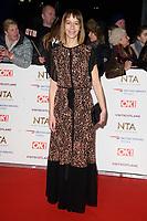 Katie Dickie<br /> arriving for the National TV Awards 2019 at the O2 Arena, London<br /> <br /> ©Ash Knotek  D3473  22/01/2019