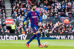 Gerard Pique of FC Barcelona in action during the La Liga 2017-18 match between FC Barcelona and RC Celta de Vigo at Camp Nou Stadium on 02 December 2017 in Barcelona, Spain. Photo by Vicens Gimenez / Power Sport Images