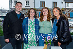 Chloe Daly from Listowel celebrating her birthday in the Ashe Hotel on Friday, l to r: James Pearce, Chloe Daly, Aoife Ryan and Aine O'Brien.