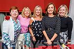 Eileen Morrissey, Mary Brennan, Margaret Crotty, Orla Morrissey and Rita Brennan enjoying the evening in Cassidys on Friday.