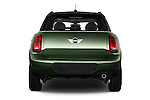 Straight rear view of a 2015 MINI Countryman Base 4 Door Hatchback Rear View  stock images
