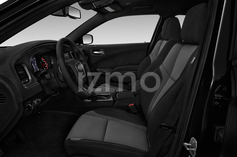 Front seat view of a 2017 Dodge Charger R/T 4 Door Sedan front seat car photos
