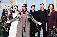 "Emma Thompson , Carmel Laniado, Robert Downey Jr. Tom Holand, Harry Collett and Susan Downey<br /> arriving for the ""Dolittle"" premiere at the Empire Leicester Square, London.<br /> <br /> ©Ash Knotek  D3549 25/01/2020"
