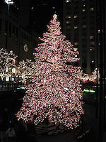 Christmas tree at John Hancock plaza, Chicago