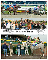 Master of Dance winning at Delaware Park on 11/4/07