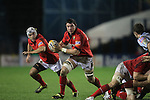 Munster replacement Paddy Butler breaks away from the back of the scrum..Celtic League.Cardiff Blues v Munster.02.11.12.©Steve Pope