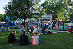Spectators and competitors relax near The Legislative Building to listen to The Cave Singers perform during Epic Rides' Inaugural Carson City Off-Road event on Saturday, June 18, 2016 in Carson City, Nev.<br /> Photo by Kevin Clifford/Nevada Photo Source