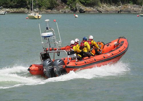 Union Hall RNLI's Atlantic 85 lifeboat, Christine and Raymond Fielding