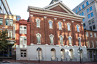 Ford's Theater, Where Lincoln was Shot in 1865, Washington DC, USA.