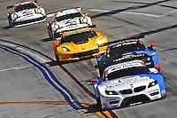 #56 BMW of Dirk Muller and John Edwards, Long Beach Grand Prix, Long Beach, CA, April 2014.  (Photo by Brian Cleary/ www.bcpix.com )  Long Beach Grand Prix, Long Beach, CA, April 2014.  (Photo by Brian Cleary/ www.bcpix.com )