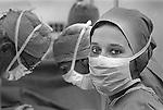 Moses Taylor Hospital. 1988. Scranton, PA. Operating Room.
