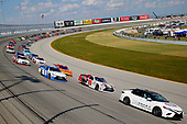 NASCAR XFINITY Series<br /> TheHouse.com 300<br /> Chicagoland Speedway, Joliet, IL USA<br /> Saturday 16 September 2017<br /> Toyota pace car, Erik Jones, NBA 2K18/GameStop Toyota Camry and Daniel Suarez, Comcast Business / Juniper Toyota Camry<br /> World Copyright: Russell LaBounty<br /> LAT Images